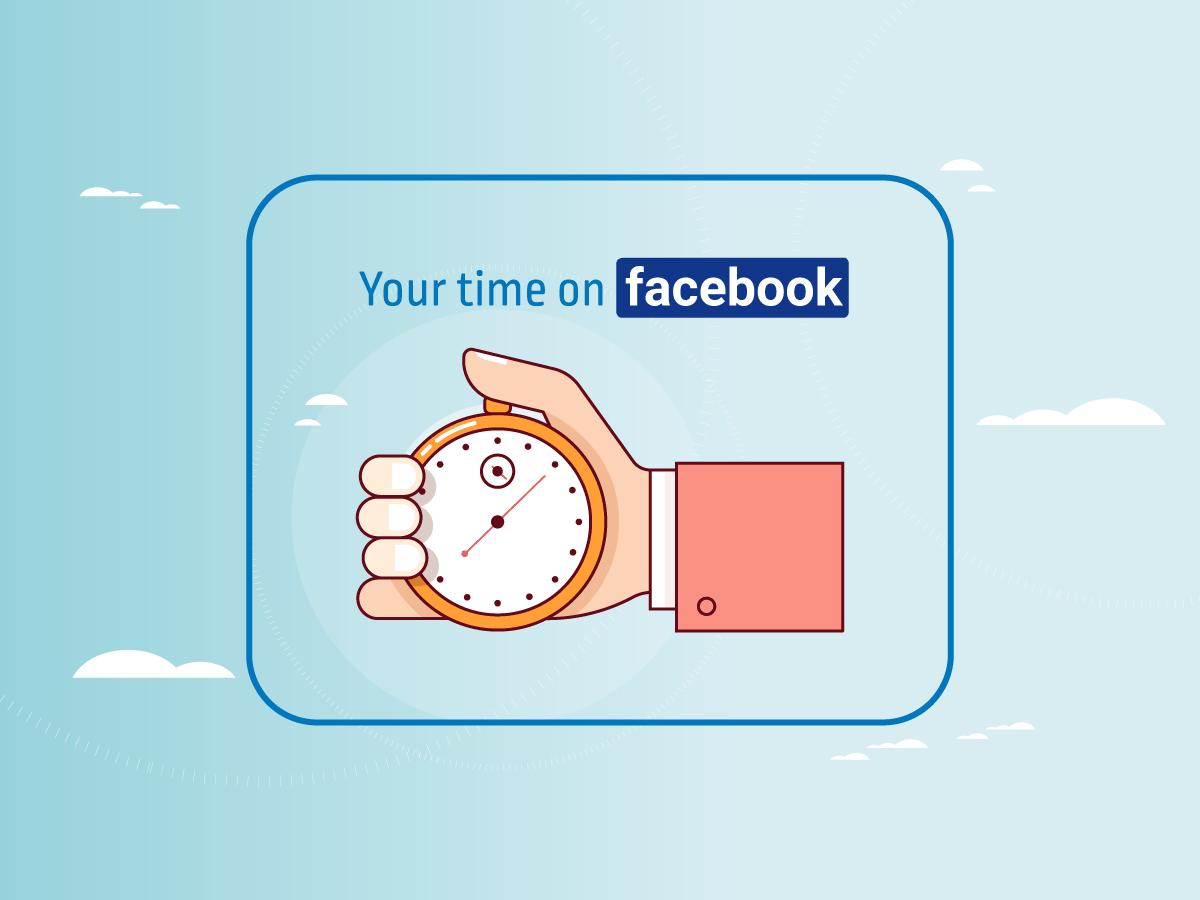 Καιρός να μάθουμε πόσο χρόνο ξοδεύουμε στο Facebook!