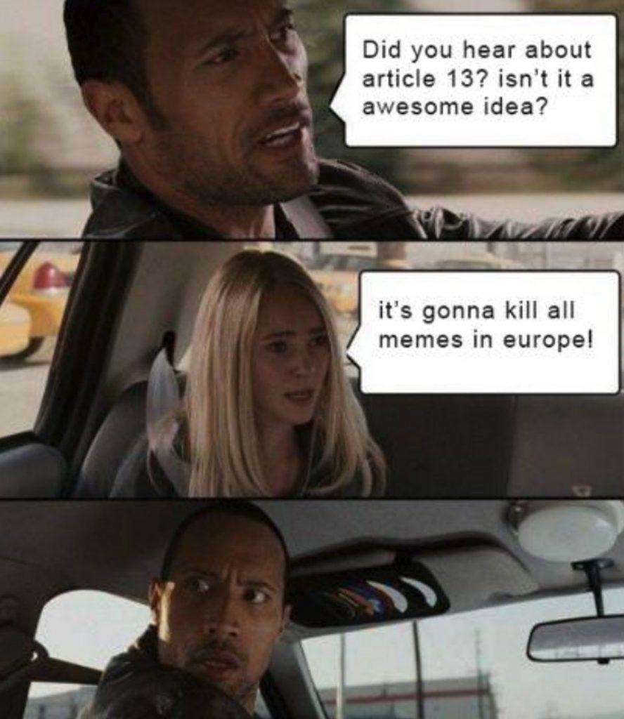 απαγόρευση memes ευρωπαϊκή ένωση