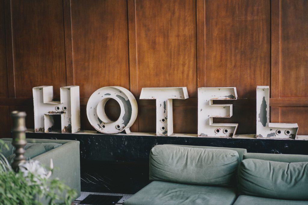 πινακίδα ξενοδοχείο